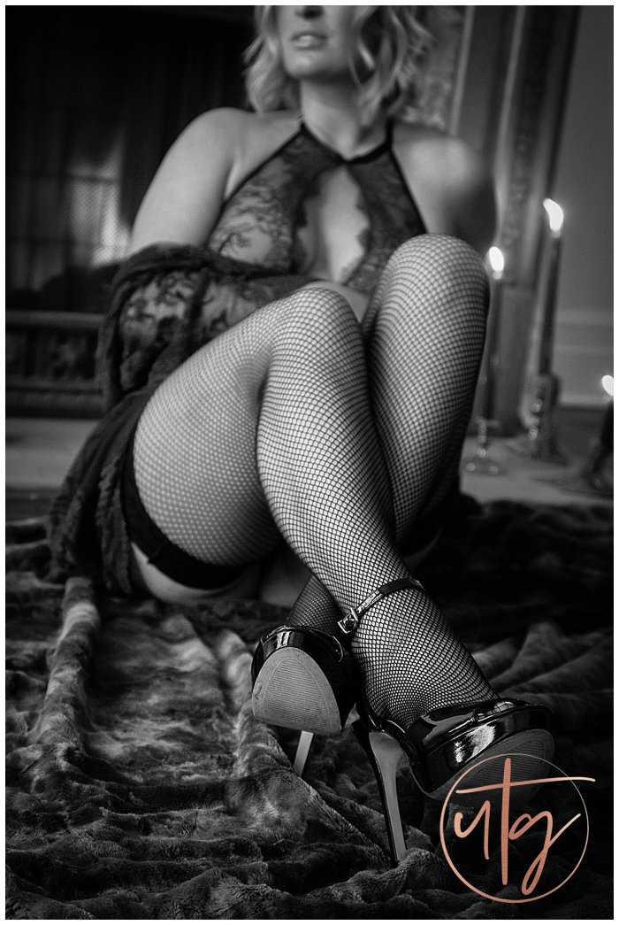 boudoir photography denver fishnets fireplace.jpg