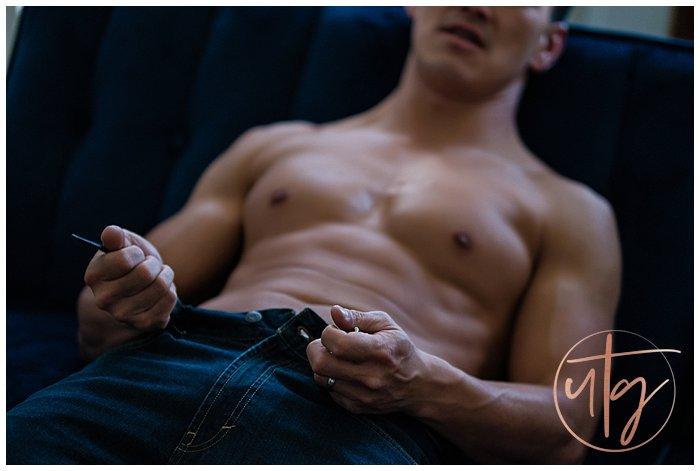 dudoir male boudoir photography denver jeans couch.jpg