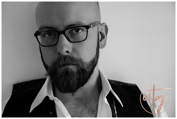 male boudoir photography denver glasses portrait.jpg