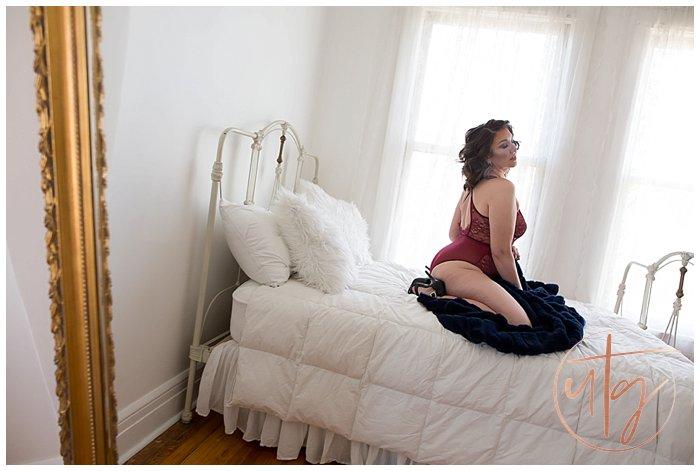 boudoir photography denver lace bodysuit gold mirror.jpg