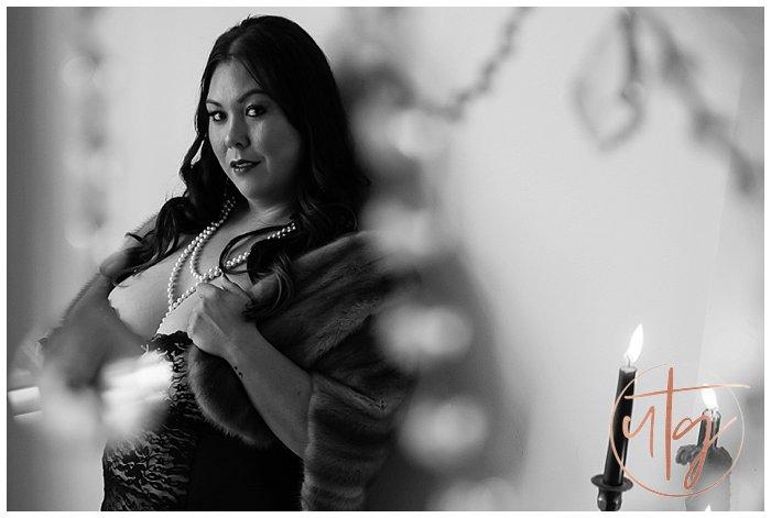 boudoir photography denver lace pearls candles.jpg