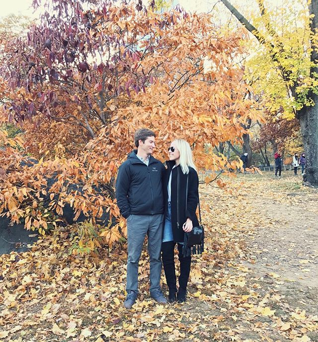 First time in New York together was a success 🍂