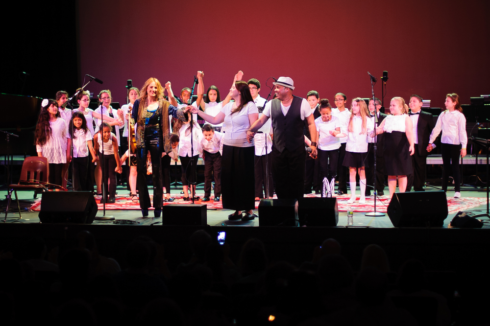 Peekskill Assumption School Choir, Paramount Hudson Valley, NY, photo by Jowan Gauthier