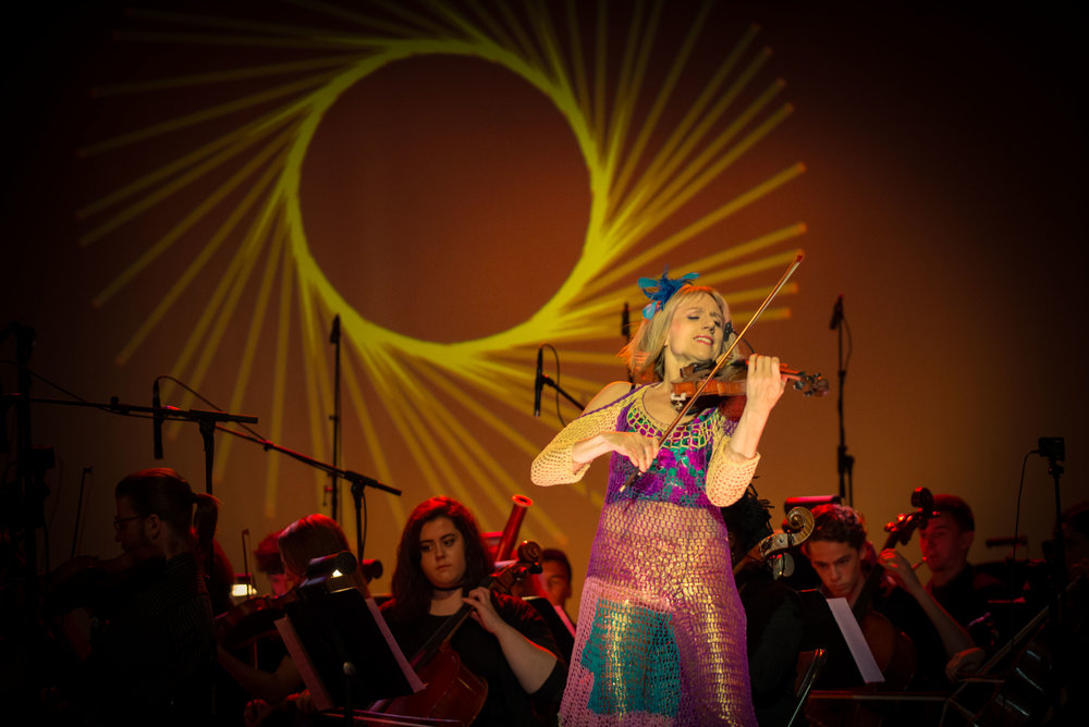 Daisy Jopling and the Global Music Academy Orchestra