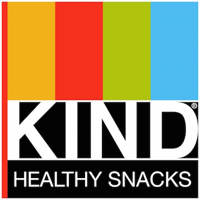 KIND Bars provided by   KIND Healthy Snacks  .