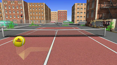 hit tennis 3 city court