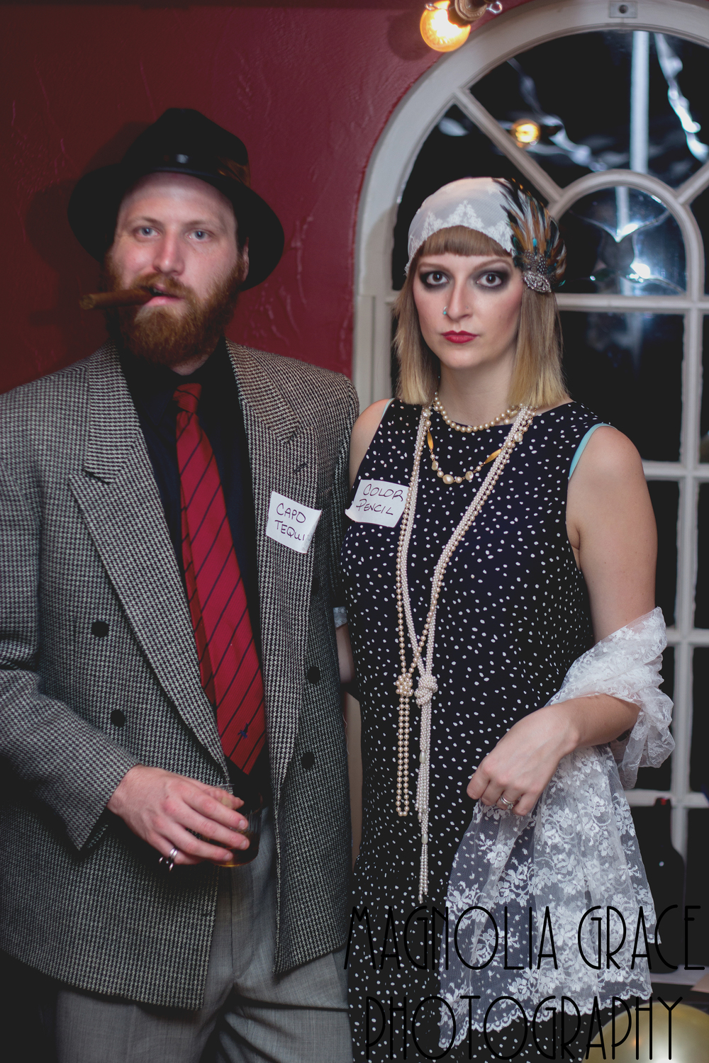 I won best dressed. Because I am a crazy nerd over the 20's and have studied the fashion of that decade numerous times so that I can be a perfect flapper. Because, DUH!!!!