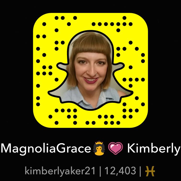 Kimberly Aker - Owner of Magnolia Grace Photography - Snapchat - Snapcode   Shreveport Boudoir & Beauty Photographer   Bossier Boudoir & Beauty Photographer   Arklatex Boudoir & Beauty Photographer   Louisiana Boudoir & Beauty Photographer