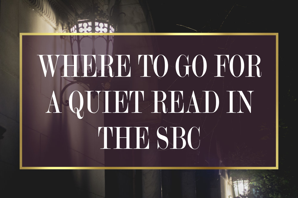 """Where to go for a Quiet Read in Shreveport-Bossier 