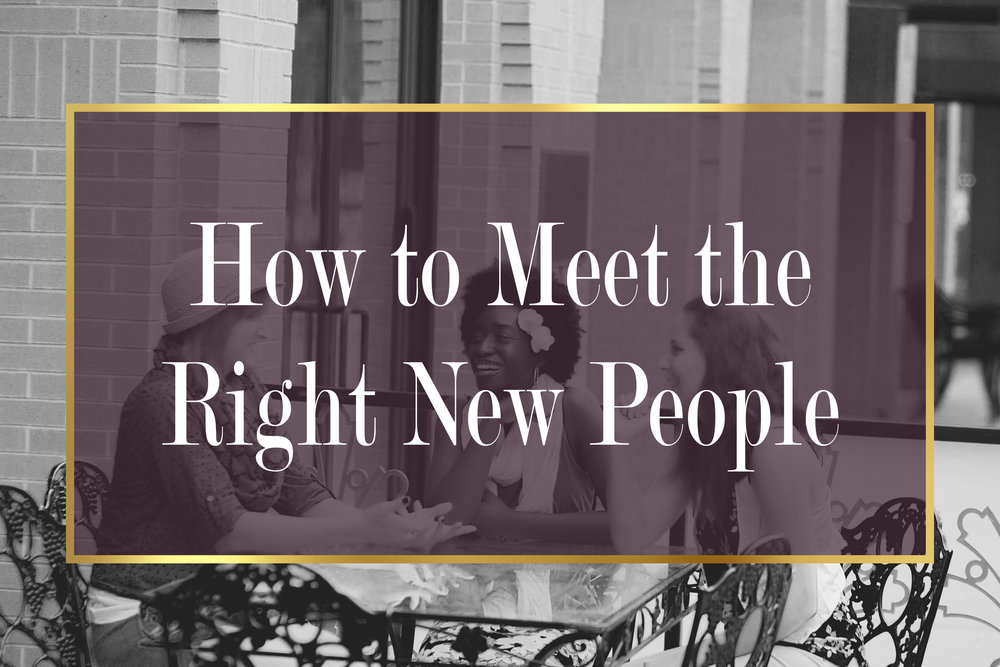 How to Meet the Perfect New People For You | Shreveport, La | BAFB | Bossier City
