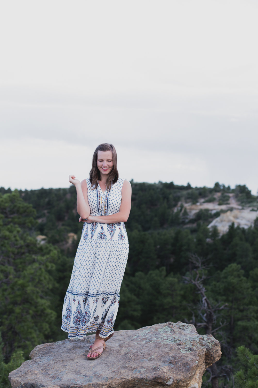 Magnolia Grace Photography | Shreveport Boudoir, Beauty, & Wedding Photographer | Bossier Boudoir, Beauty, & Wedding Photographer | Elizabeth's Colorado Springs Portrait Session