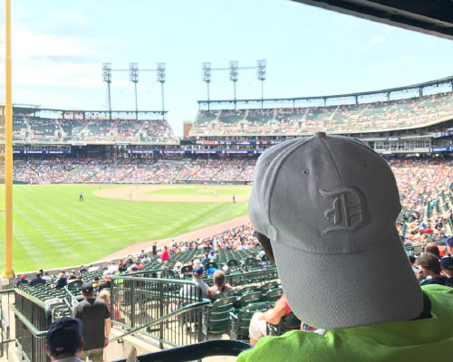 Community outing at Comerica Park to take in a Detroit Tigers baseball game.