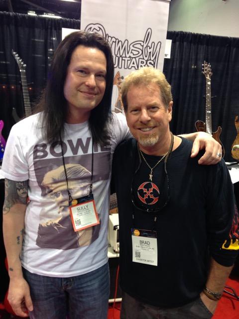 With Brad Gillis. Super nice guy!