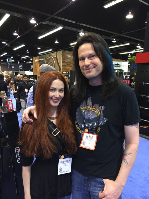 Was great to meet Gretchen Menn; she was on a great episode of the Amps and Axes Podcast. Super talented, and incredibly nice. We geeked out over our mutual appreciation of Randy Rhoads.