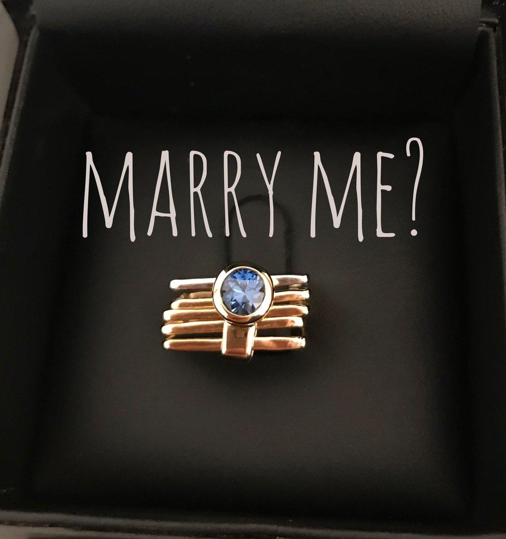 Firenze Sapphire Engagement Ring