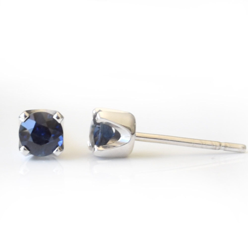 Sapphire Earring Studs
