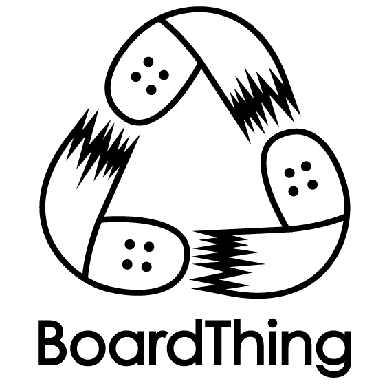 BoardThing - recycled skateboard goods