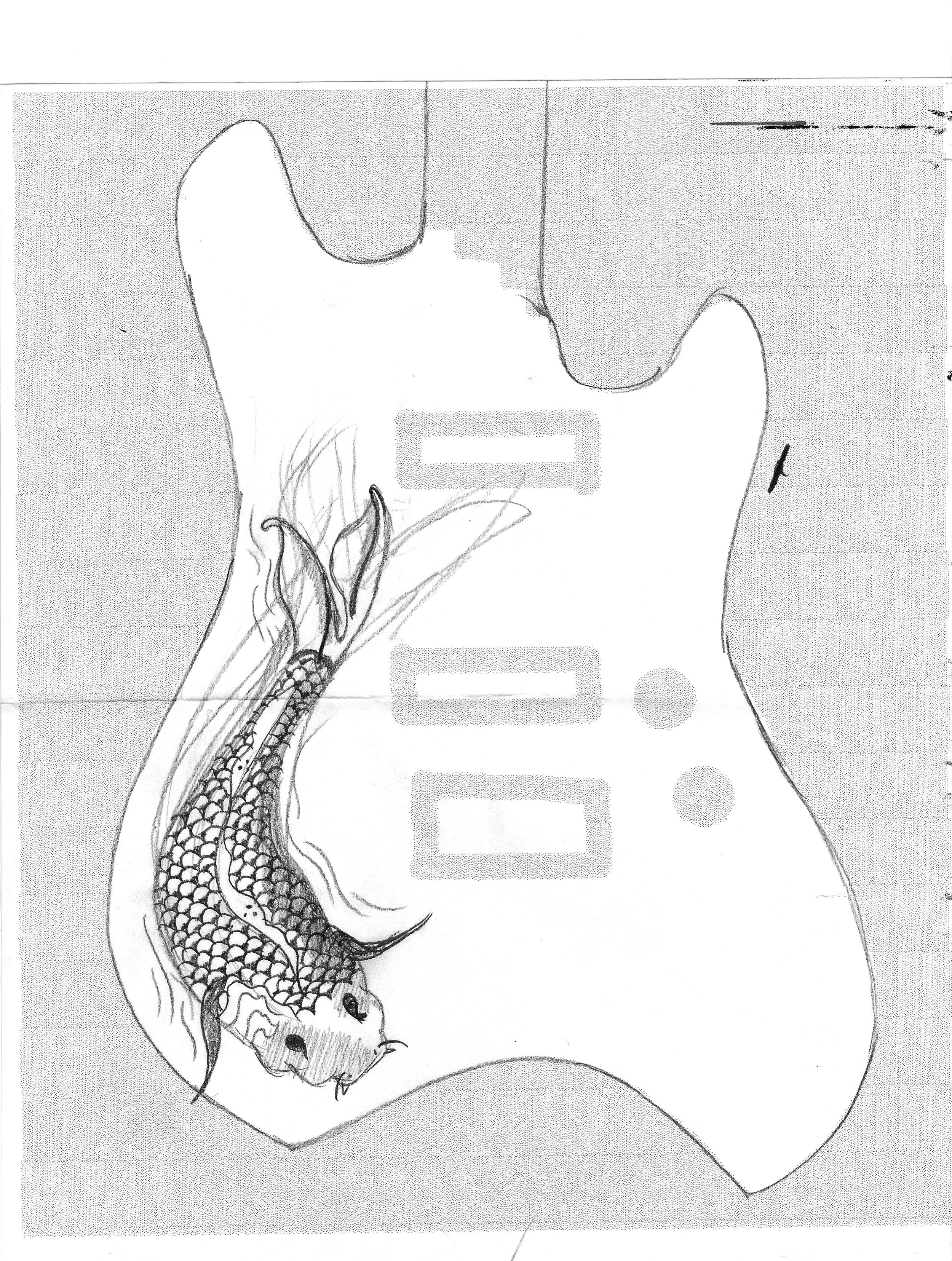 guitar sketch 1