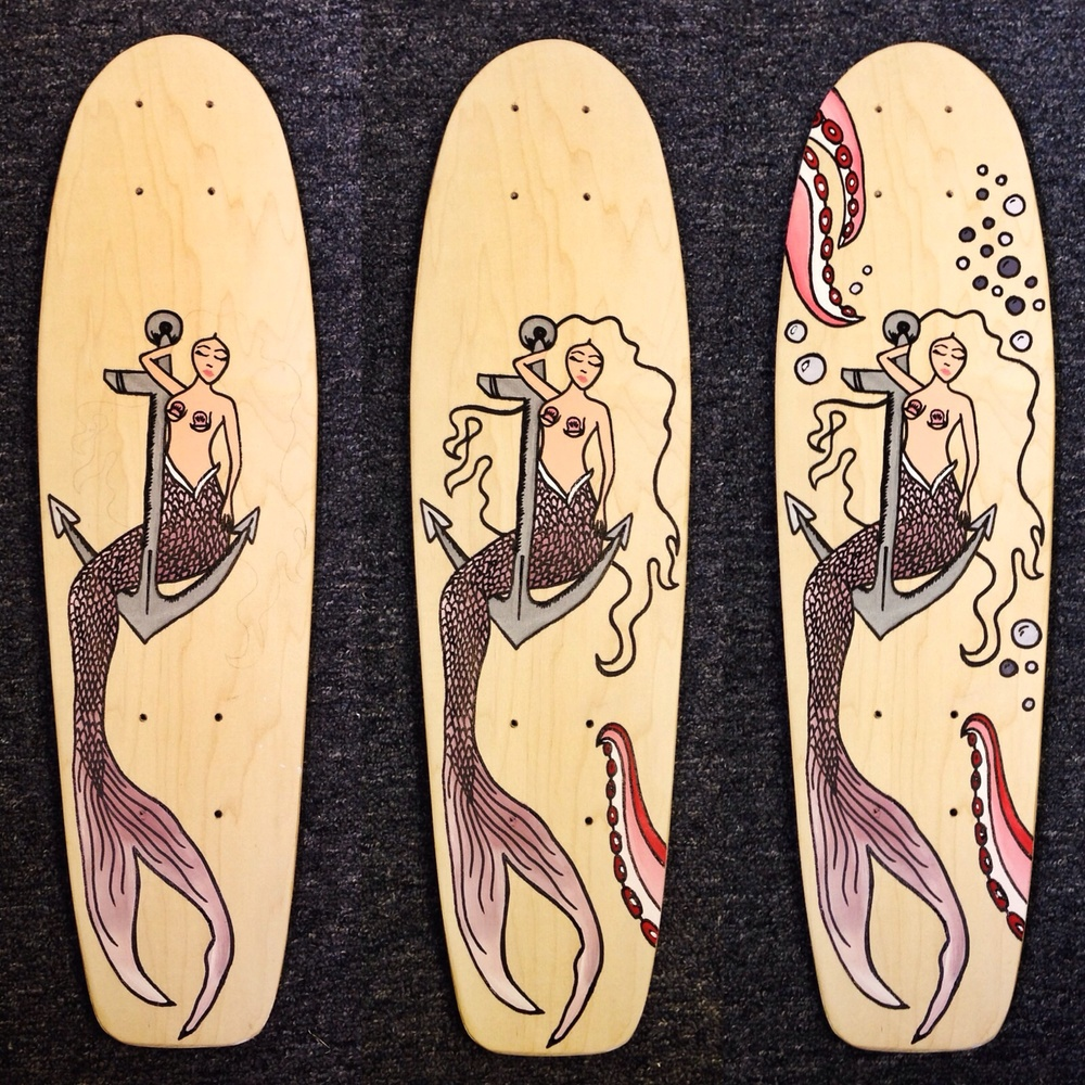 Studio Skate: Handmade Decks — Paige Poppe