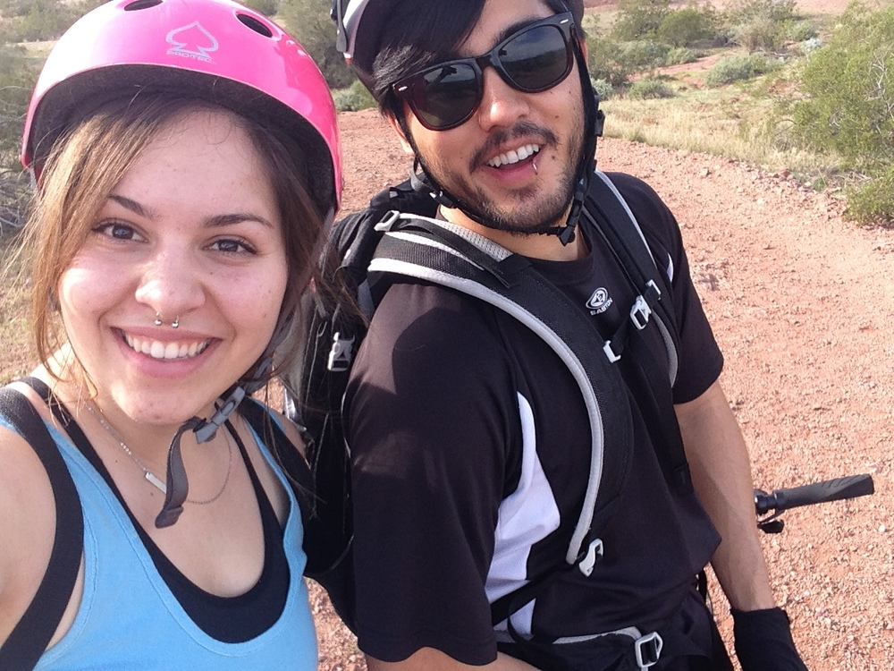 Mountain biking at Papago Park this Saturday