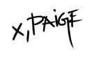 x, Paige signature.png