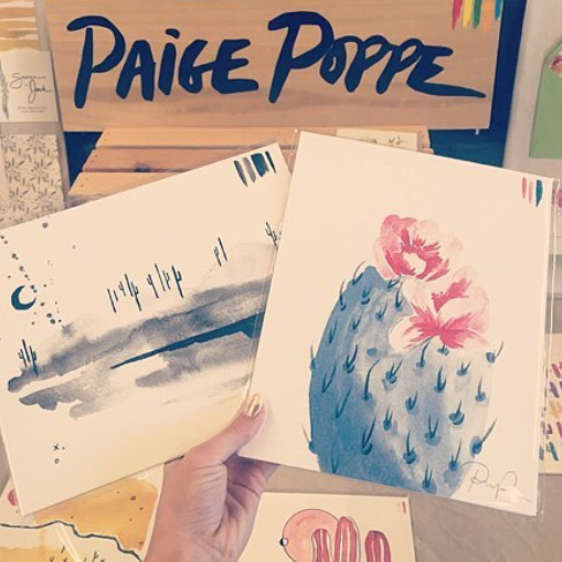 """Lovely to meet you Paige. You are truly a delight & I can't wait to hang these babies up at home! - @kenie.lee"