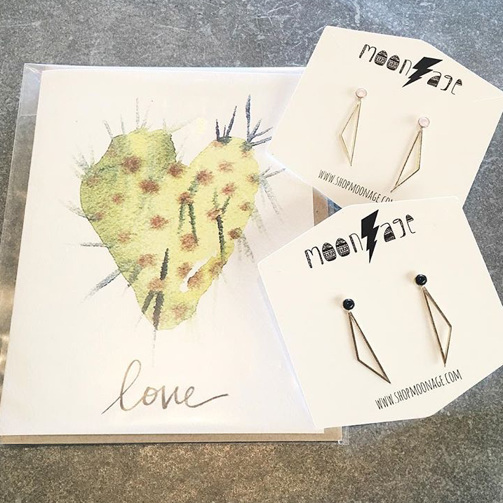 """All you need is love <3 & maybe some Gemma studs."" - @ShopMoonage"
