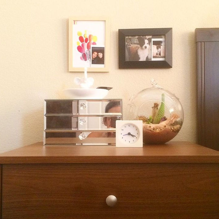 """Actualizing bedside table goals today. Riveting Sunday :)"" - @careohleenah"