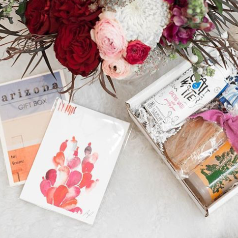 """Getting ready to send off a few of these fun boxes, inspired by nostalgic Arizona."" - @DarlinDarlinAZ"