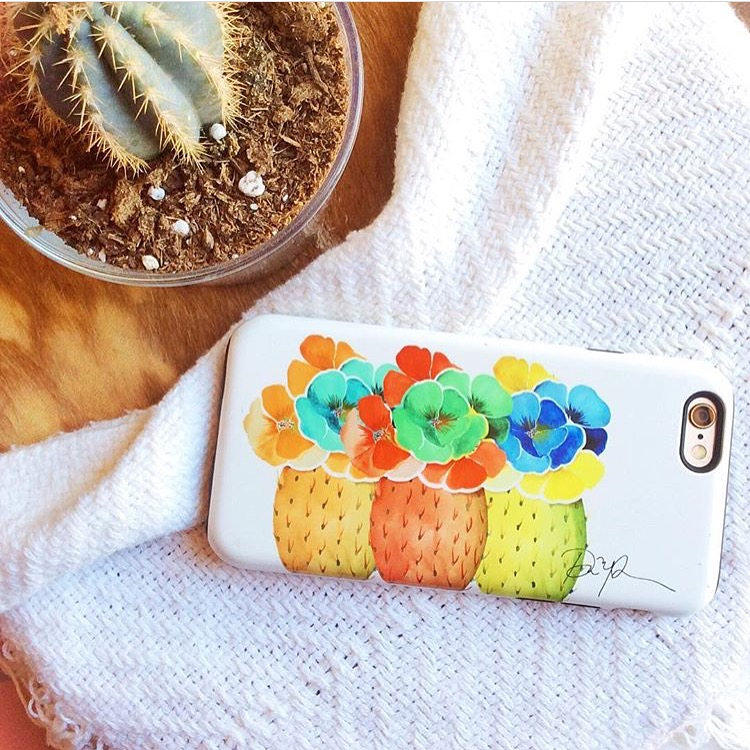 """Totally feeding my inner desert child with @PaigePoppe's beautiful case <3."" - @fabiicakes"