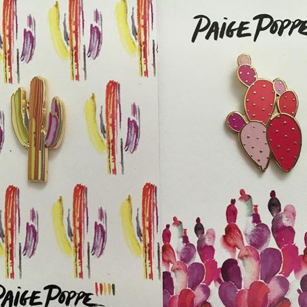"""Got my @PaigePoppe pins! And they are GORGEOUS."" - @krystaacree"