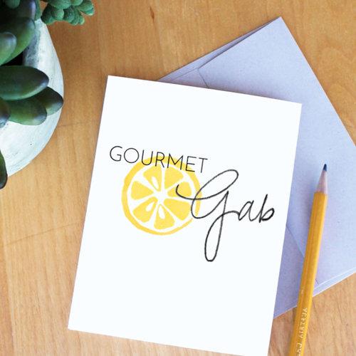 Gourmet Gab Logo Designer