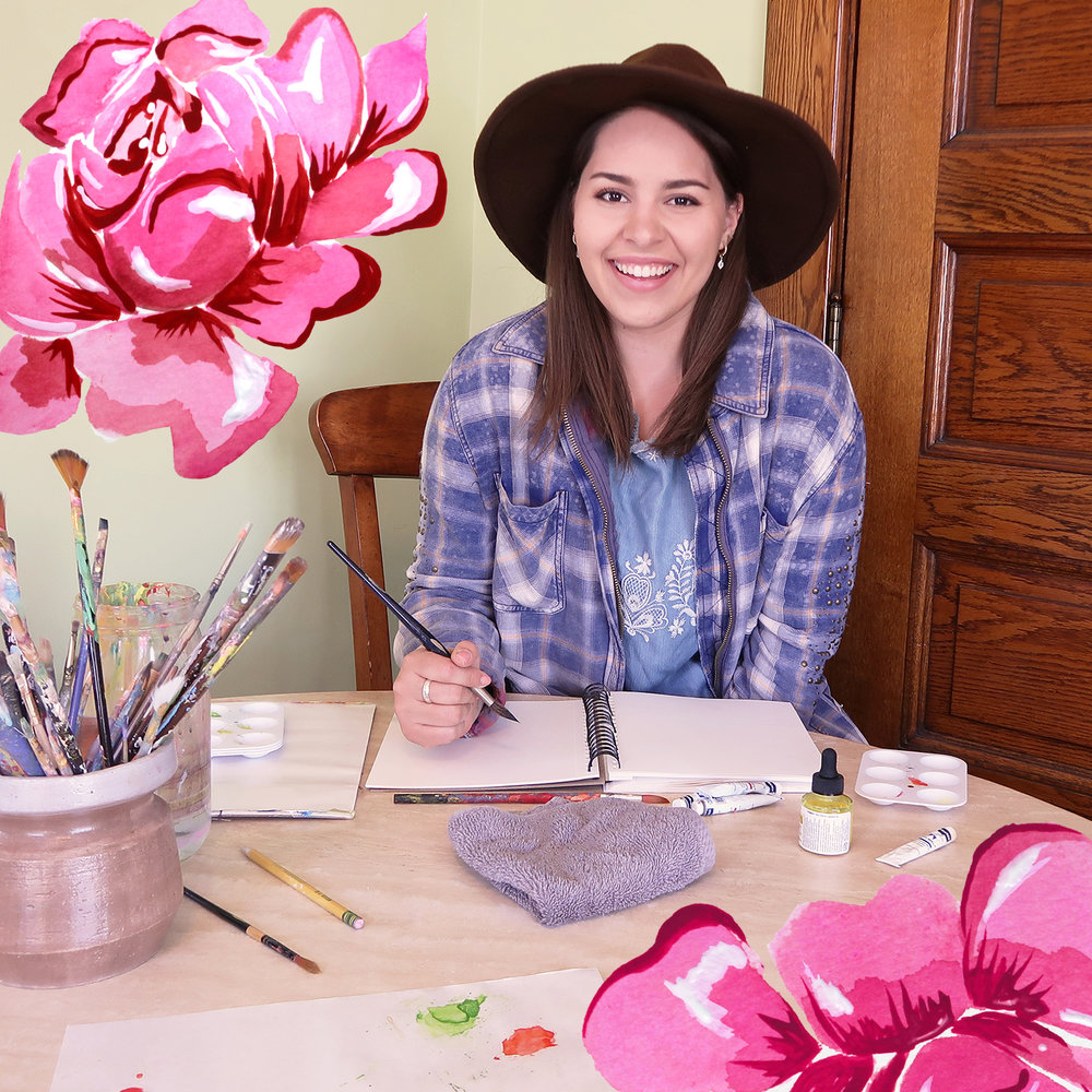 painting with hat-flowers added.jpg