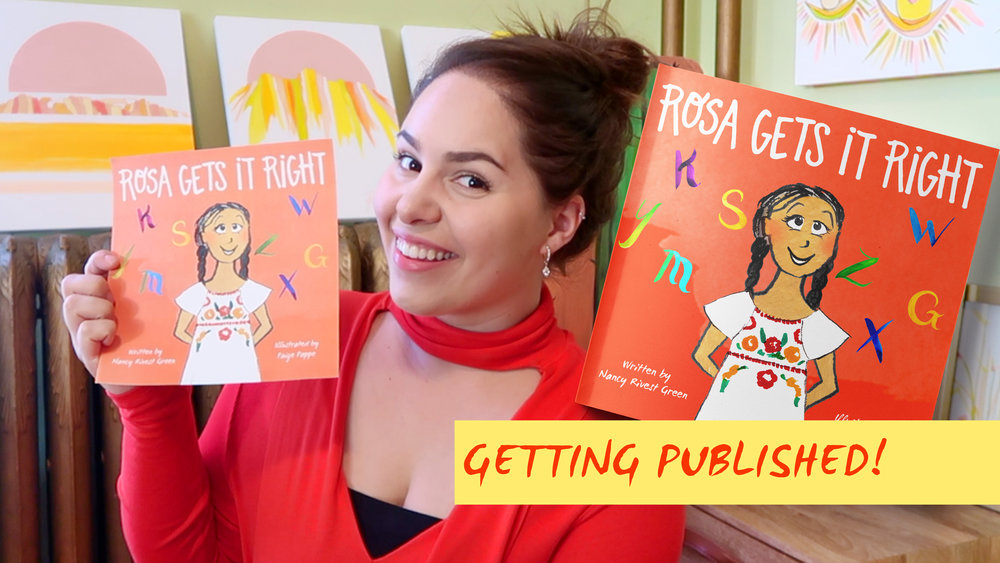 Arizona Illustrator - Rosa Gets It Right - Children's book illustrator - paige poppe artist