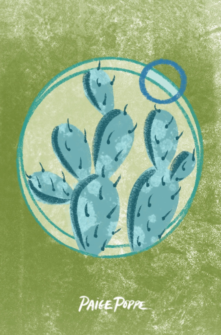 Paige Poppe Artist_Copyright 2019_Wallpaper_Moody_Prickly_Pear.jpg