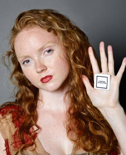 Lily Cole - Photographed by James Robinson at Impossible launch event