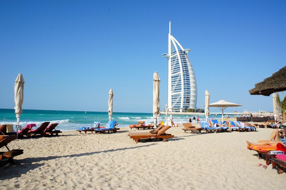 Carelle - Dubai, Beach