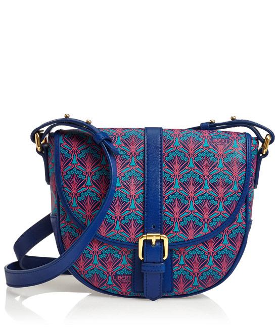 Blue Liberty London Carnaby Saddle Bag