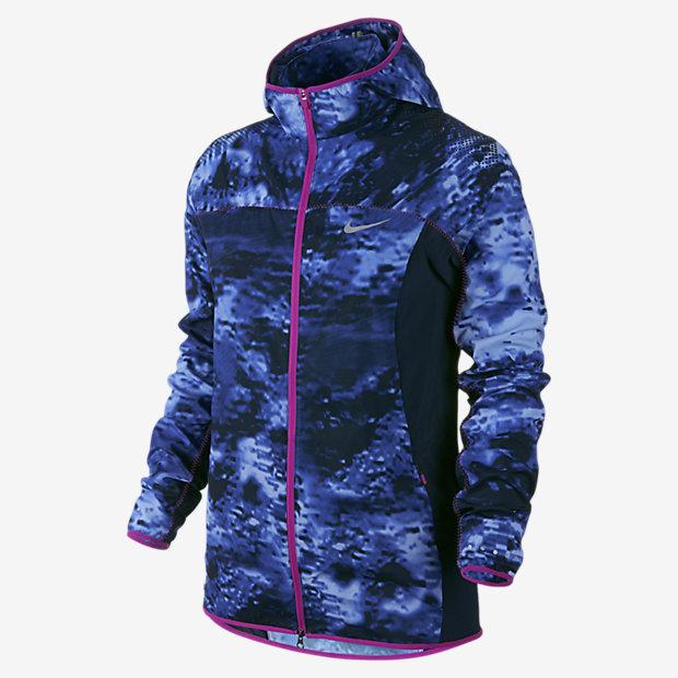 Nike Printed Trail Kiger Full Zip Women's Running Jacket