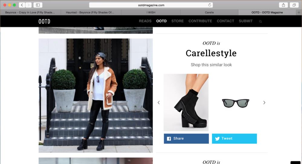 Carelle - OOTD Magazine