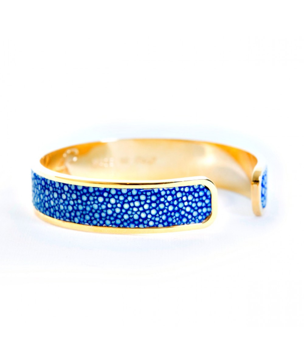 Solo Bracelet in Blue Stingray