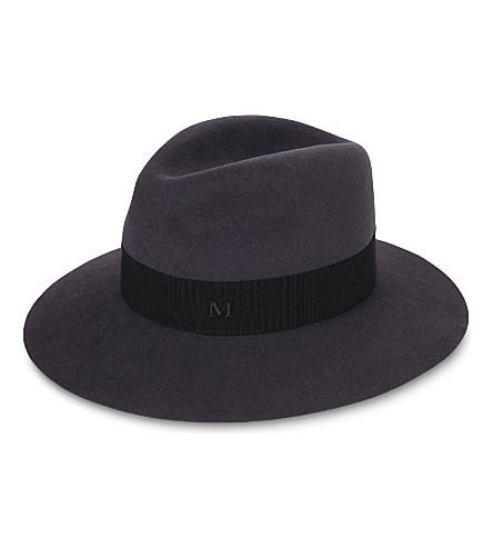 Maison Michel - Henrietta Felt Boyfriend Hat