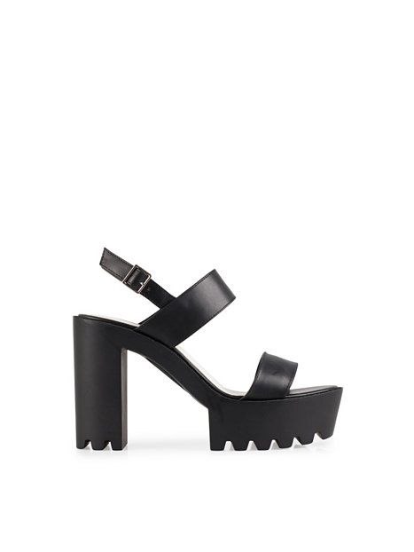 High Heel Cleated Sandal