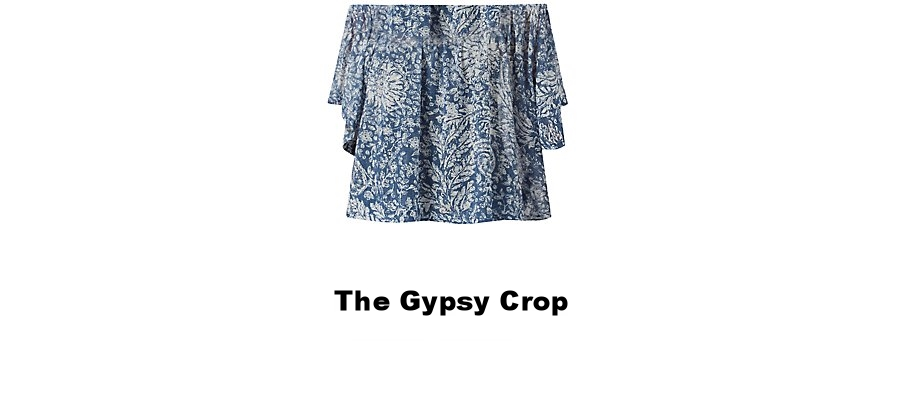 New Look Gypsy Crop Top