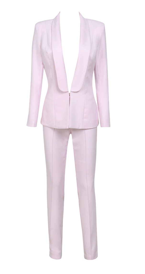 'Tristana' Crepe Trouser Suit