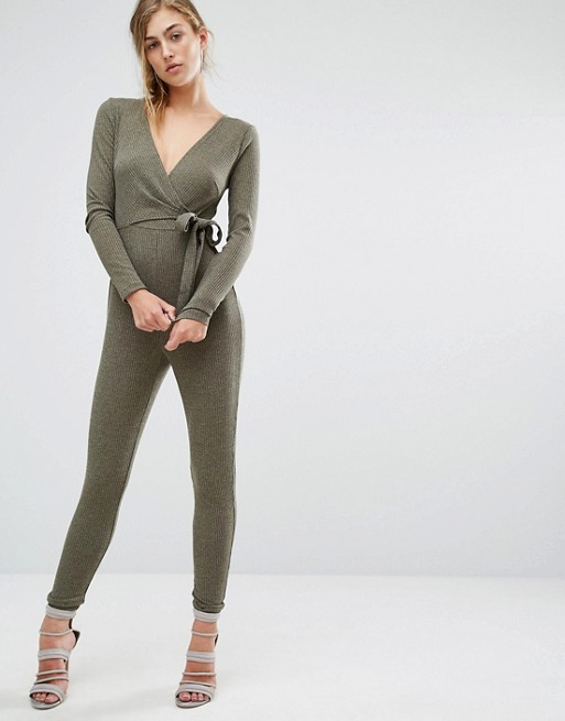 Parallel Lines Knitted Jumpsuit