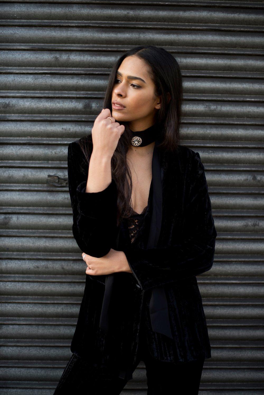 Carelle - Velvet Suit