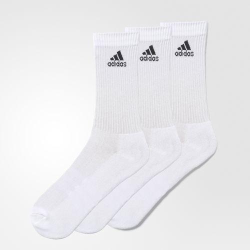 Adidas 3 Stripe Performance Crew Socks