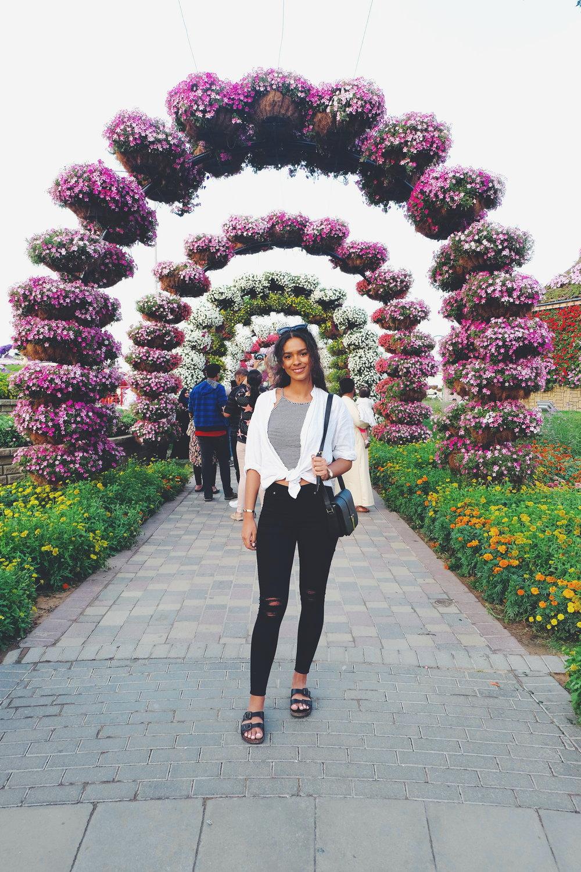 Carelle - Dubai, Miracle Gardens