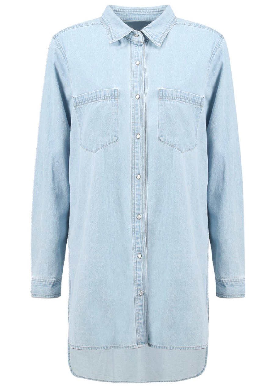 Boohoo Oversized Boyfriend Denim Shirt